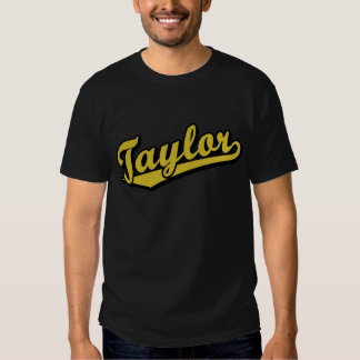 Taylor in Gold Tshirt