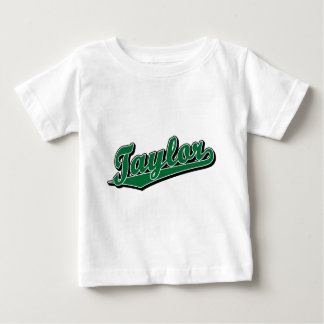 Taylor in Green Baby T-Shirt