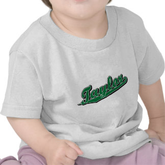 Taylor in Green Shirts
