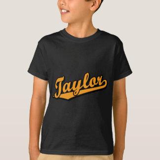 Taylor in Orange T-Shirt