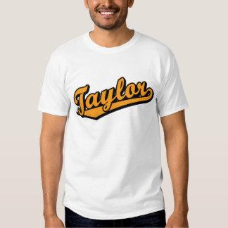 Taylor in Orange T Shirt