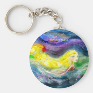 Taylor Mills Under the Surface keychain