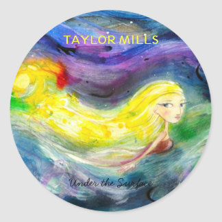 "Taylor Mills ""Under the Surface"" stickers"