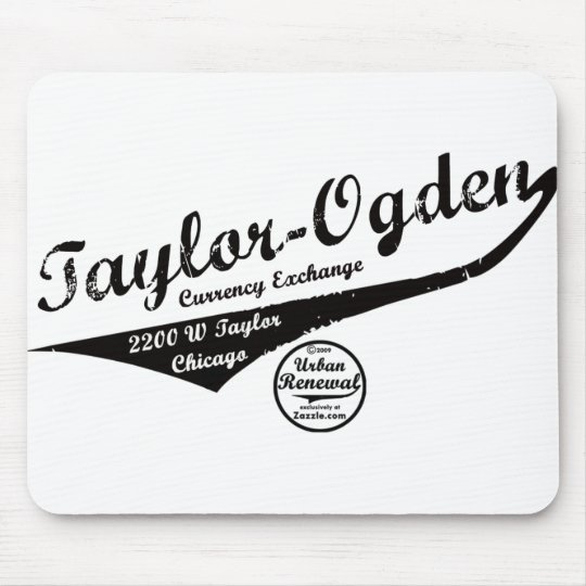 Taylor Ogden Currency Exchange Mouse Mat