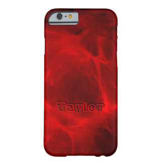 Taylor Red Veining iPhone case Barely There iPhone 6 Case