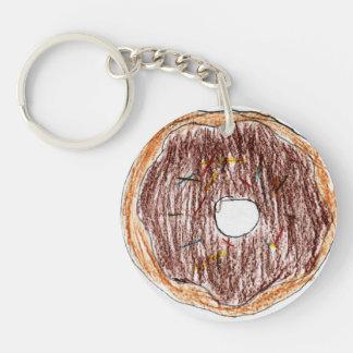 Taylor Single-Sided Round Acrylic Key Ring