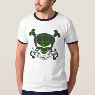 Taylor Tartan Skull T-Shirt