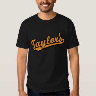 Taylor's in Orange Tshirt