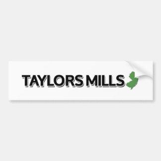 Taylors Mills New Jersey Bumper Stickers