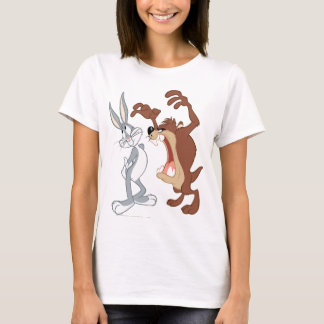 TAZ™ and BUGS BUNNY™ Not Even Flinching - Color T-Shirt