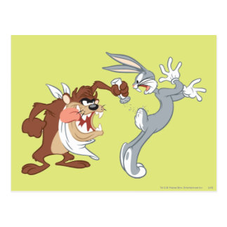 TAZ™ and BUGS BUNNY™ Postcard