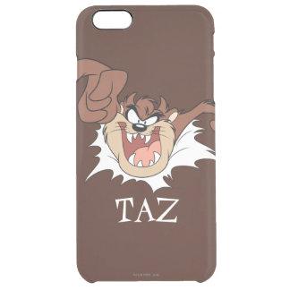 TAZ™ Bursting Through Page Clear iPhone 6 Plus Case