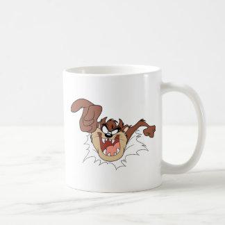 TAZ™ Bursting Through Page Coffee Mug