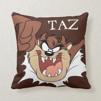 TAZ™ Bursting Through Page Cushion