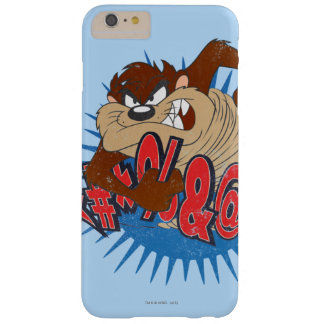 TAZ™ Censored Barely There iPhone 6 Plus Case