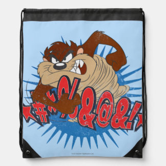 TAZ™ Censored Drawstring Bag