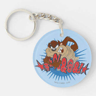 TAZ™ Censored Key Ring