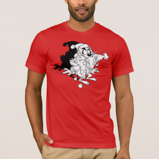 TAZ™ eating Christmas tree T-Shirt