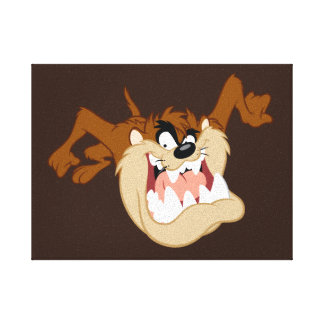 TAZ™ Evil Grin Canvas Print