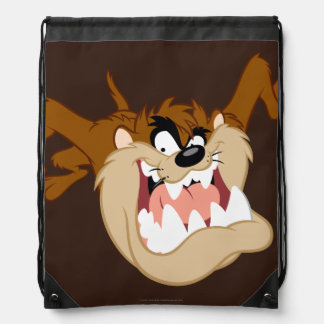 TAZ™ Evil Grin Drawstring Bag