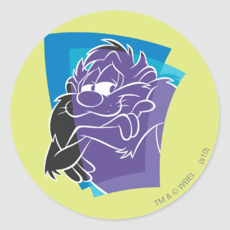 TAZ™ Expressive 21 Classic Round Sticker
