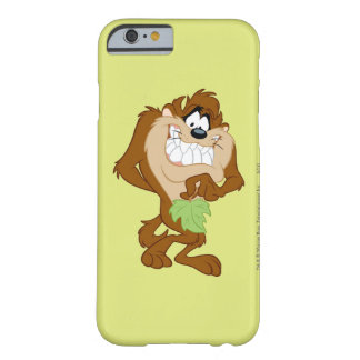 TAZ™ holding a leaf Barely There iPhone 6 Case