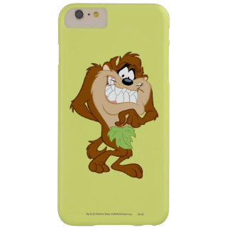 TAZ™ holding a leaf Barely There iPhone 6 Plus Case