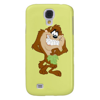 TAZ™ holding a leaf Galaxy S4 Case