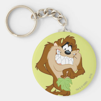 TAZ™ holding a leaf Key Ring