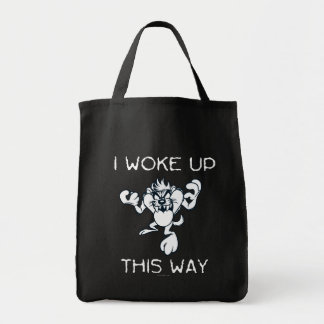 TAZ™ I Woke Up This Way Grocery Tote Bag