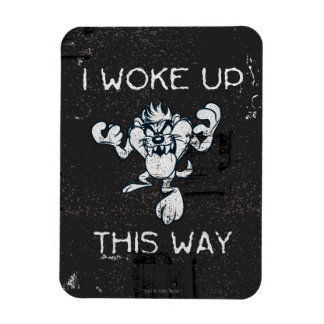 TAZ™ I Woke Up This Way Rectangular Photo Magnet