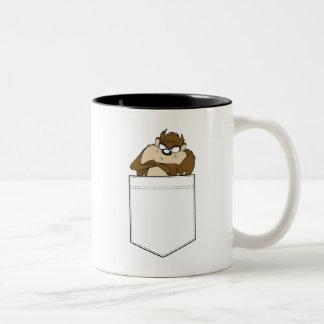 TAZ™ In A Pocket Two-Tone Coffee Mug