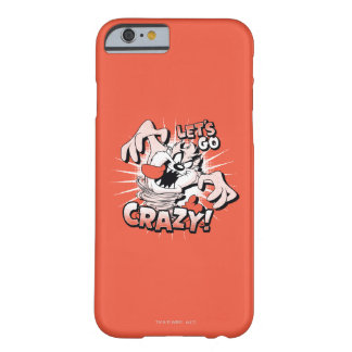 "TAZ™ ""Let's Go Crazy!"" Halftone Barely There iPhone 6 Case"