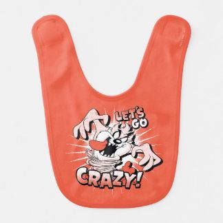 """TAZ™ """"Let's Go Crazy!"""" Halftone Bib"""