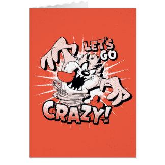 "TAZ™ ""Let's Go Crazy!"" Halftone Card"