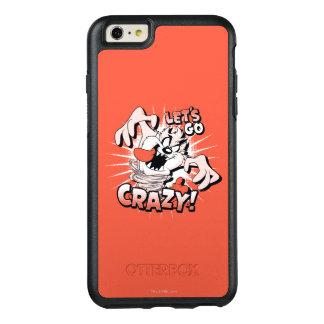 """TAZ™ """"Let's Go Crazy!"""" Halftone OtterBox iPhone 6/6s Plus Case"""