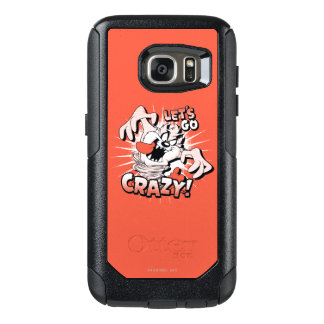 "TAZ™ ""Let's Go Crazy!"" Halftone OtterBox Samsung Galaxy S7 Case"