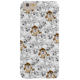 TAZ™ Line Art Color Pop Pattern Barely There iPhone 6 Plus Case