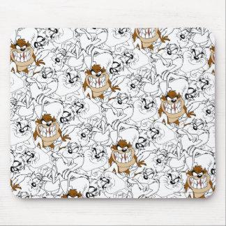 TAZ™ Line Art Color Pop Pattern Mouse Mat