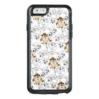 TAZ™ Line Art Color Pop Pattern OtterBox iPhone 6/6s Case