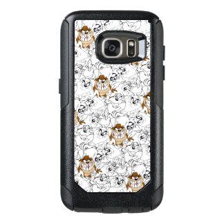 TAZ™ Line Art Color Pop Pattern OtterBox Samsung Galaxy S7 Case