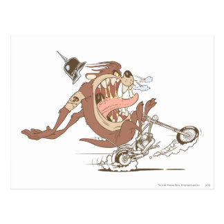TAZ™ Motorcycle Fury Postcard