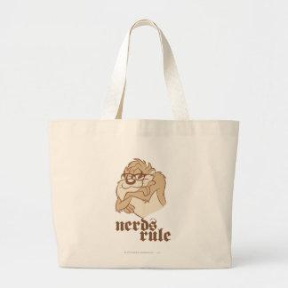 TAZ™ - Nerds Rule Large Tote Bag