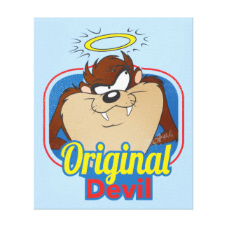TAZ™ Original Devil Canvas Print