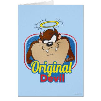TAZ™ Original Devil Card
