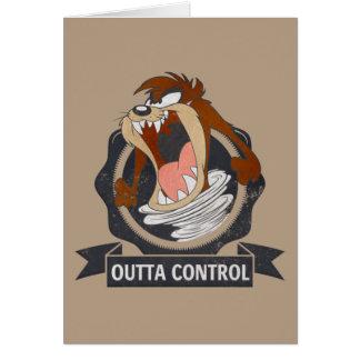 TAZ™ Outta Control Card