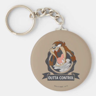 TAZ™ Outta Control Key Ring