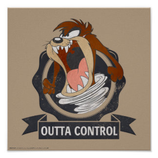 TAZ™ Outta Control Poster