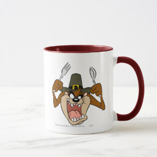 TAZ™ Pilgrim Thanksgiving in Color Mug