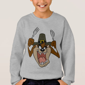 TAZ™ Pilgrim Thanksgiving in Color Sweatshirt